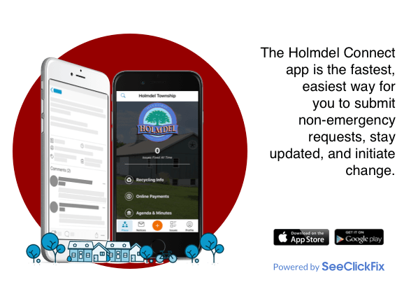 Holmdel Connect App